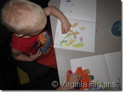finger paints
