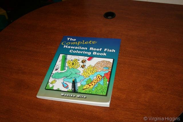 Hawaiian Reef Fish Coloring Book