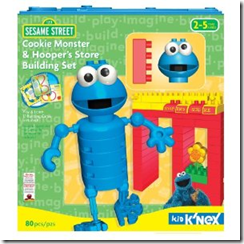 K'Nex Cookie Monster