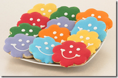 Flower Smiley Cookie