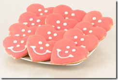 Heart Smiley Cookie