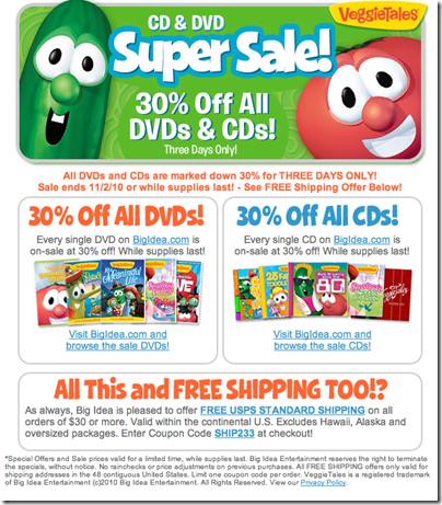 VT 3-day sale