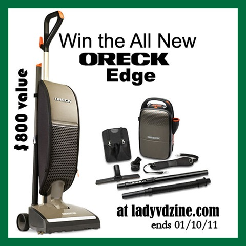 Win an Oreck Edge at Lady V dZine