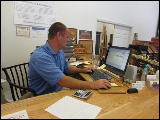 Greg Blanke owner of Boardwalk Hardwood Flooring