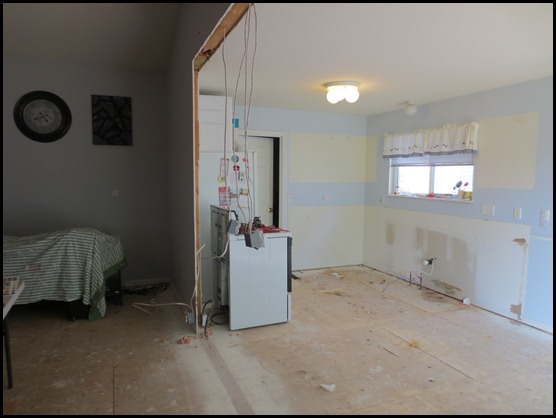 removing room dividing wall