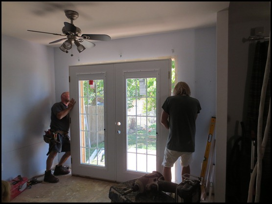 Installing a French Door