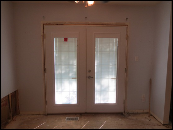 French Door replacement for sliding glass door