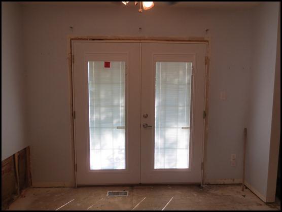 French Door replacement for sliding glass door