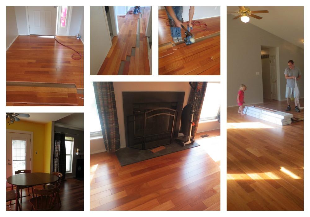 kempas hardwood flooring- that bald chick®