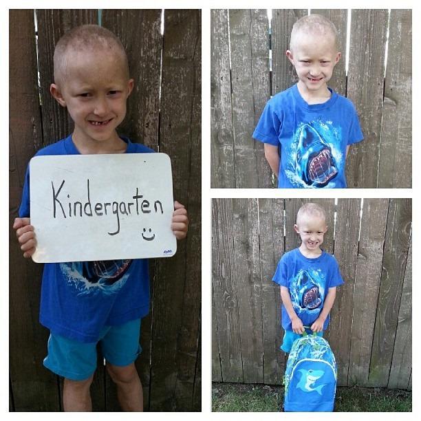 Mister 1st day Kindergarten