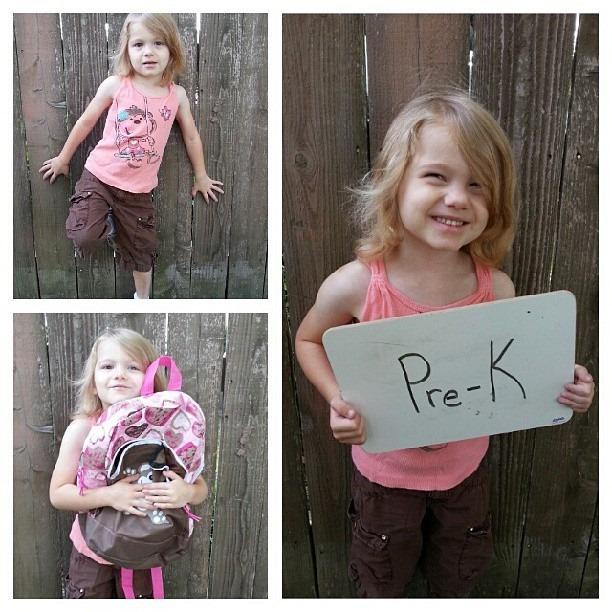 Sister 1st day Pre K