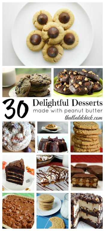 Delightful Desserts made with Peanut Butter