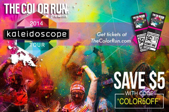 The Color Run - 2014 Kaleidoscope Tour