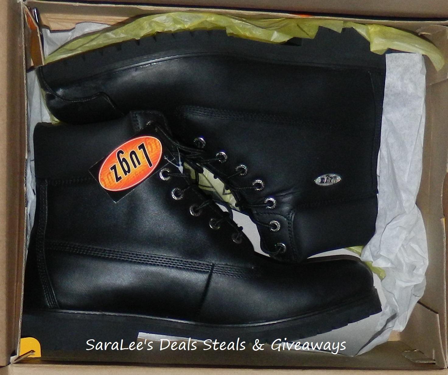 Black LUGZ boots