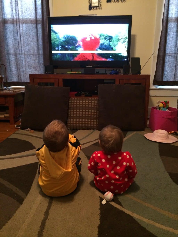 A watching Sesame Street Be a Good Sport