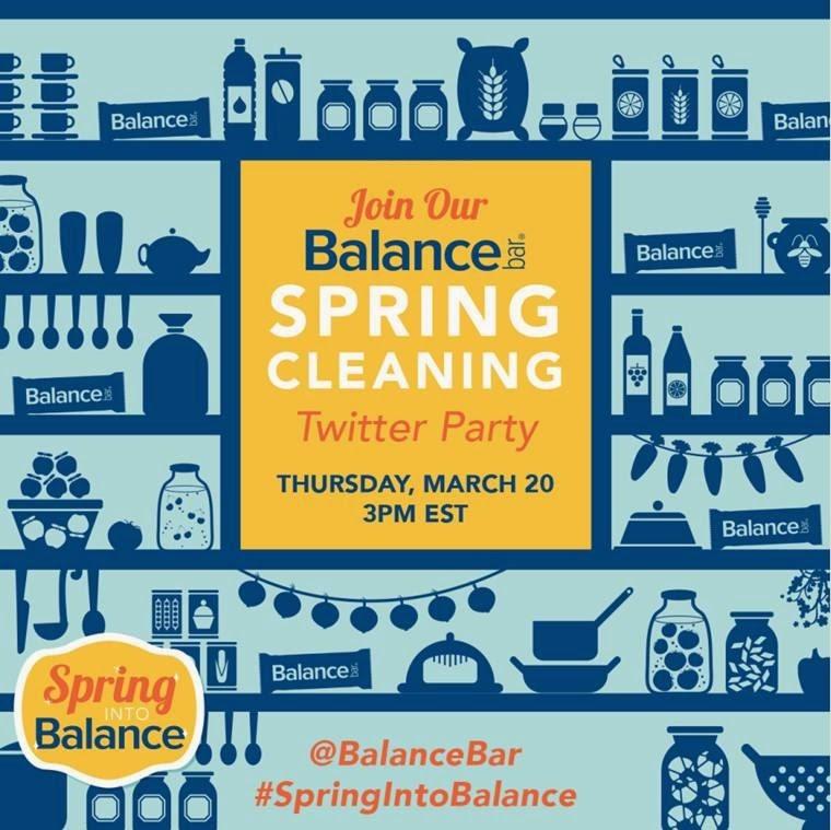 Balance Bar spring cleaning