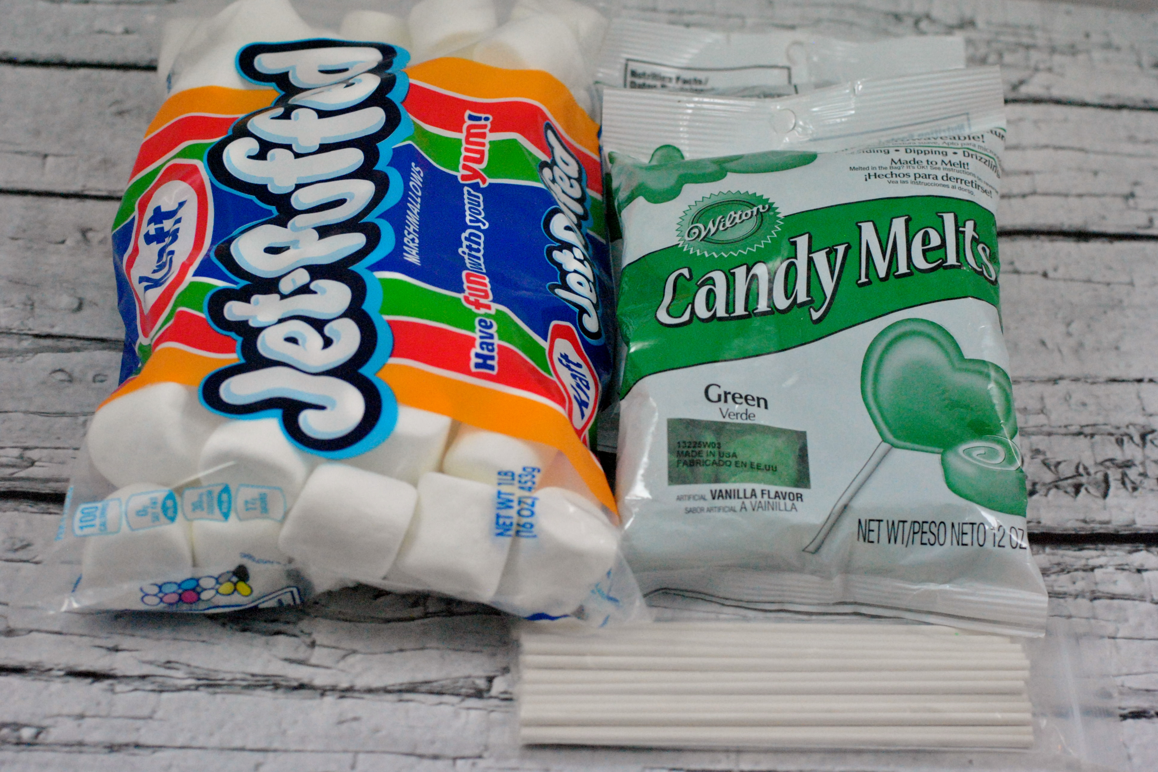 Basic Ingredients for Dipped Marshmallows