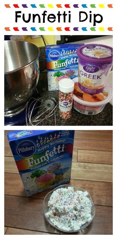 Funfetti Dip Recipe