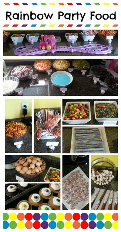 My Little Pony Rainbow Party Food