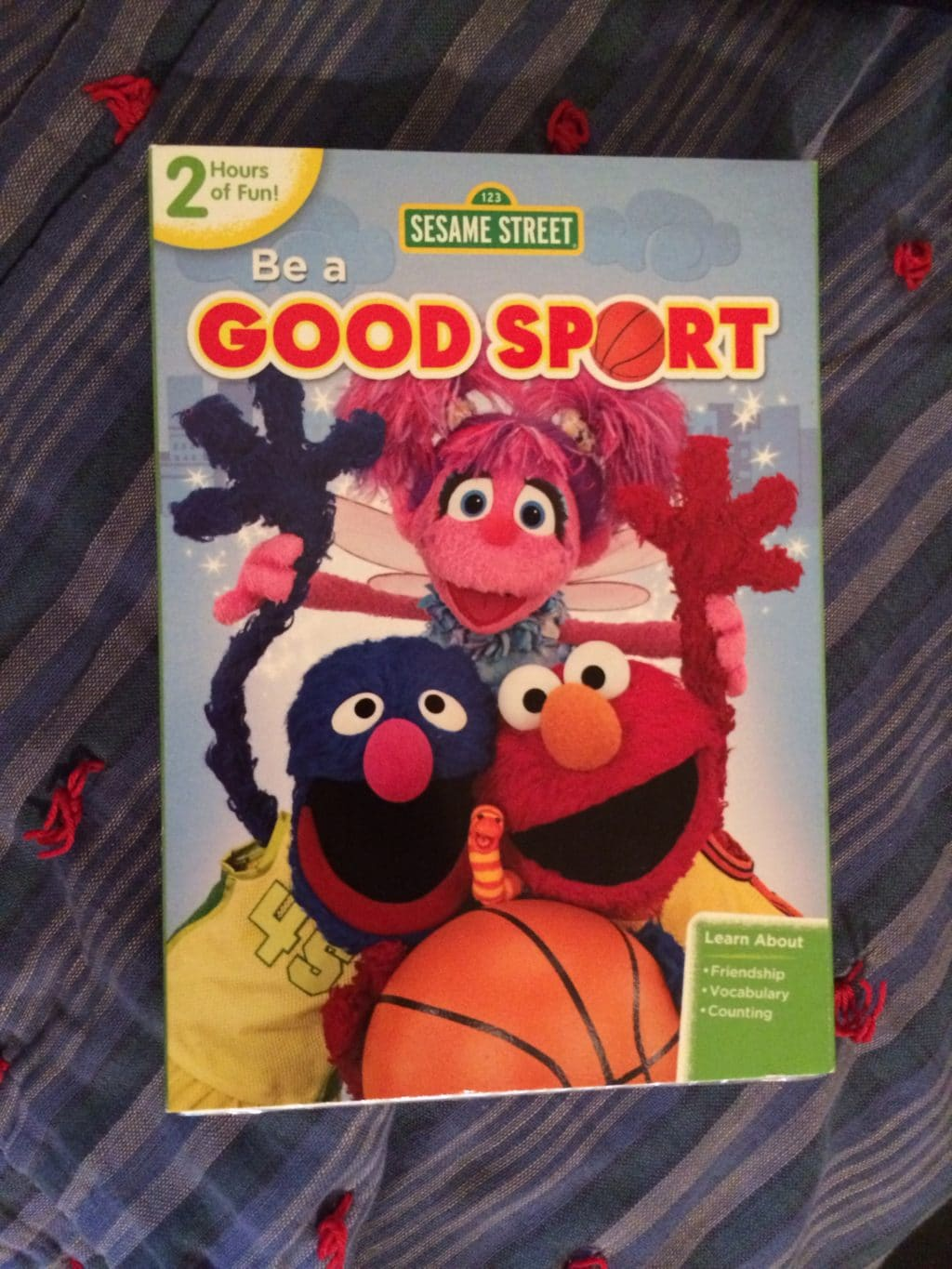 Sesame Street Be a Good Sport Cover