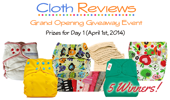 Cloth Reviews Giveaway Event: Day 1