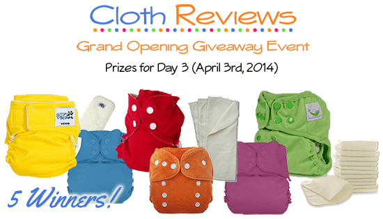 Cloth Reviews Giveaway Event: Day 3
