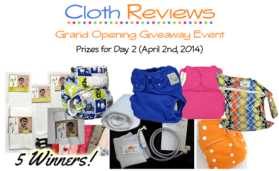 Cloth Reviews Giveaway Event: Day 2