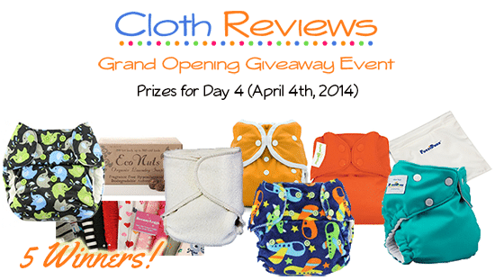 Cloth Reviews Giveaway Event: Day 4