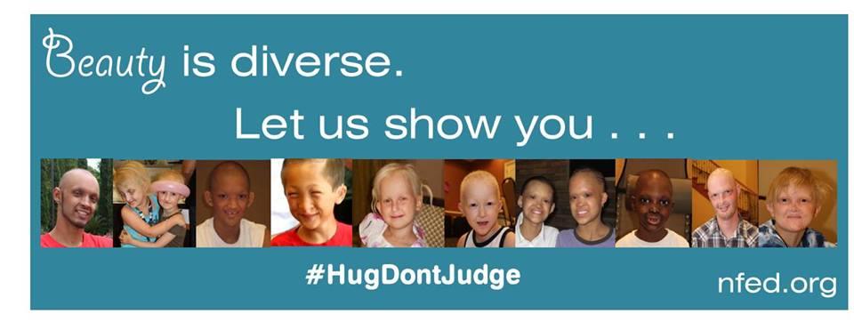 NFED #HugDontJudge