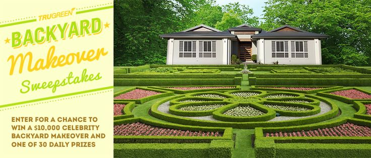 TruGreen Backyard Makeover Sweepstakes ends 4/18 - That ...