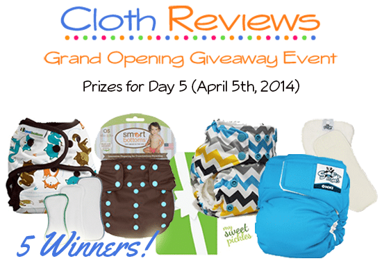 Cloth Reviews Giveaway Event: Day 5