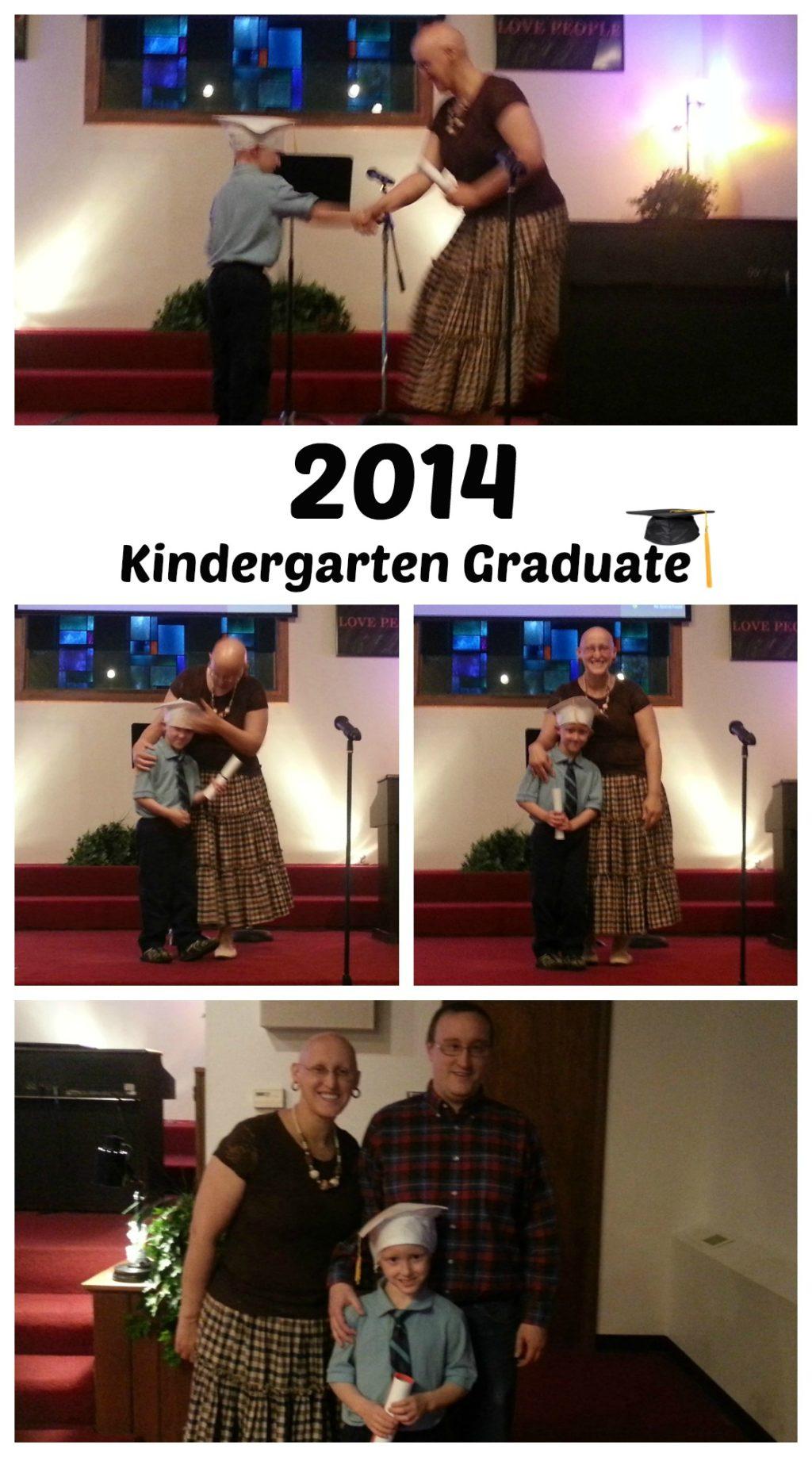 2014 Kindergarten Graduate