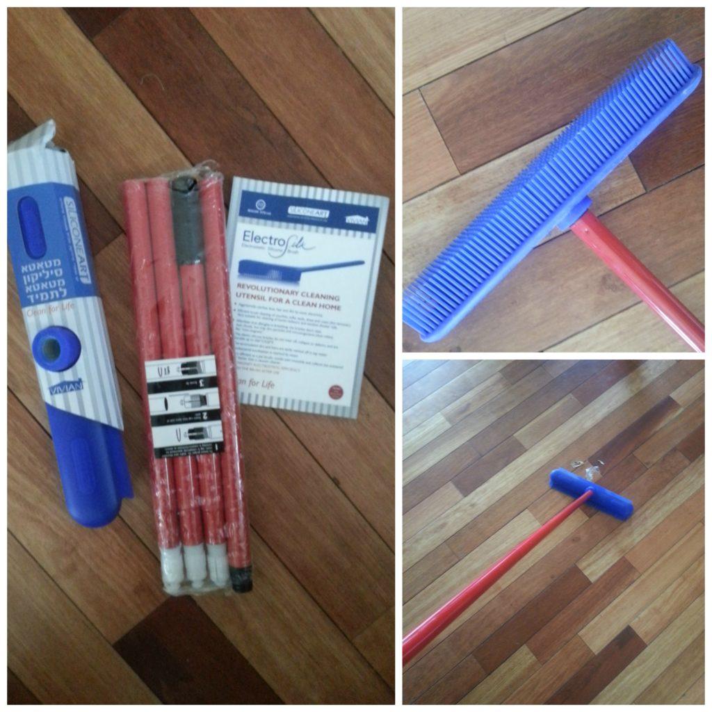 ElectroSilk broom
