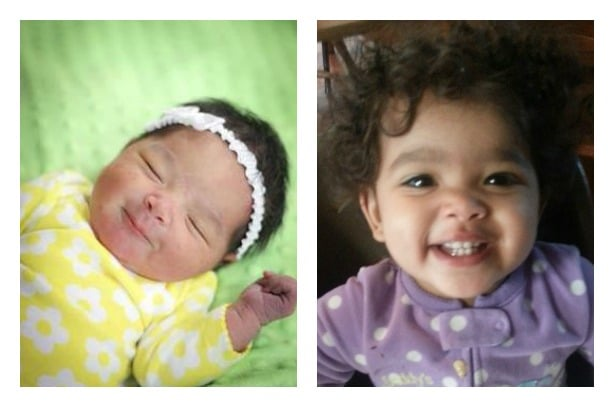 Little Miss Grin Then and Now