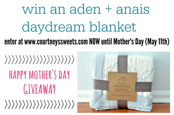 aden and anais daydream blanket giveaway