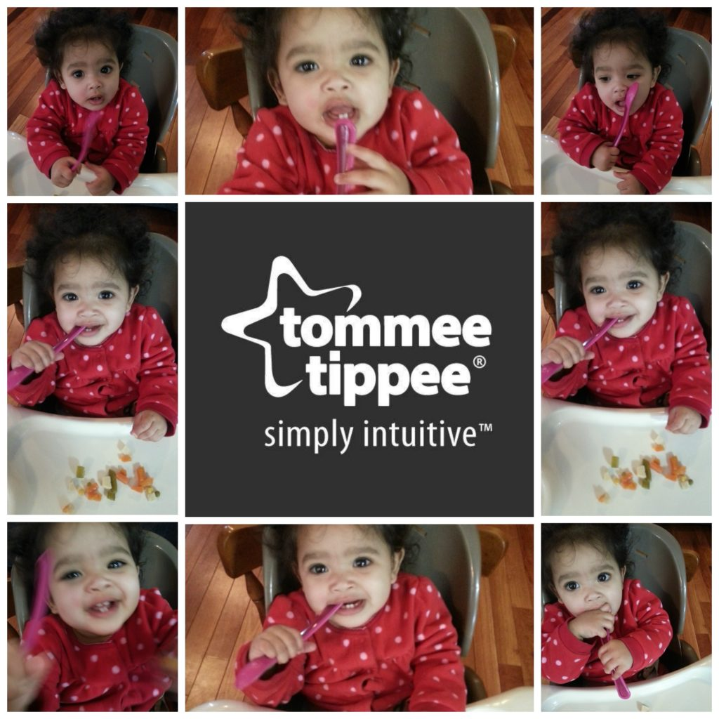 baby led weaning with tommee tippee