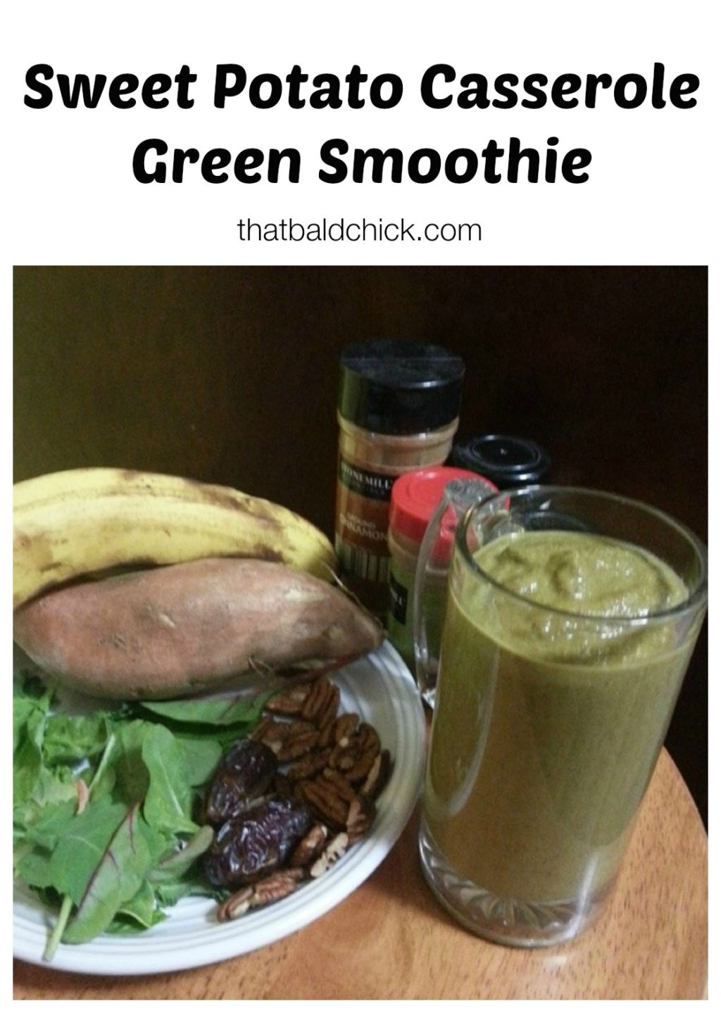 sweet potao casserole smoothie