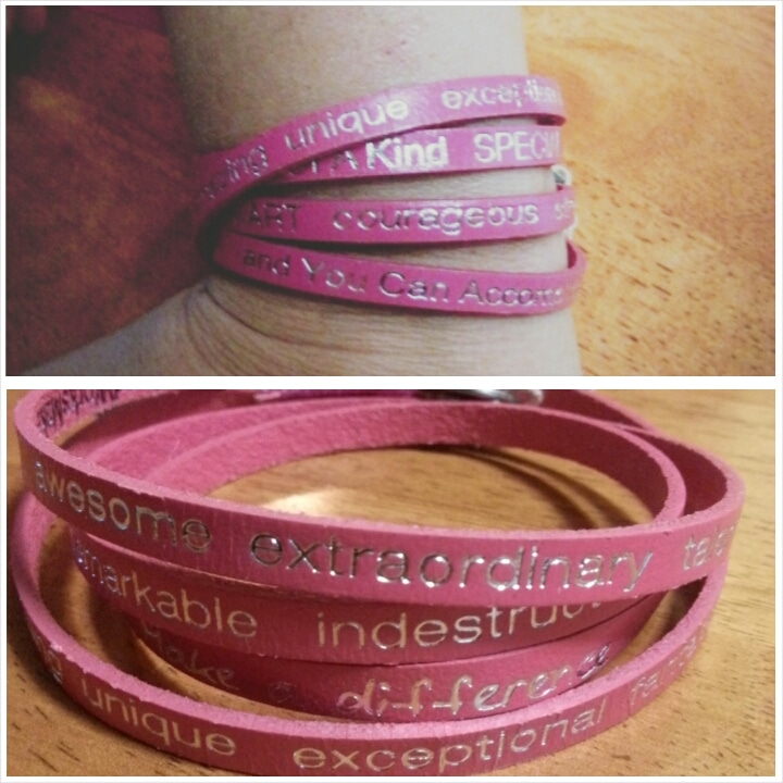"""You Are Beautiful"" Bracelet"