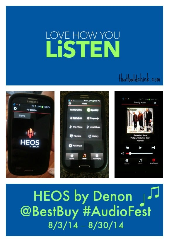 control the HEOS by Denon with your smart phone