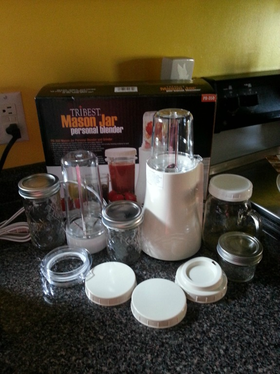 mason jar blender tribest