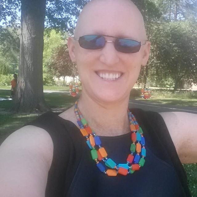 selfie at Forest Park