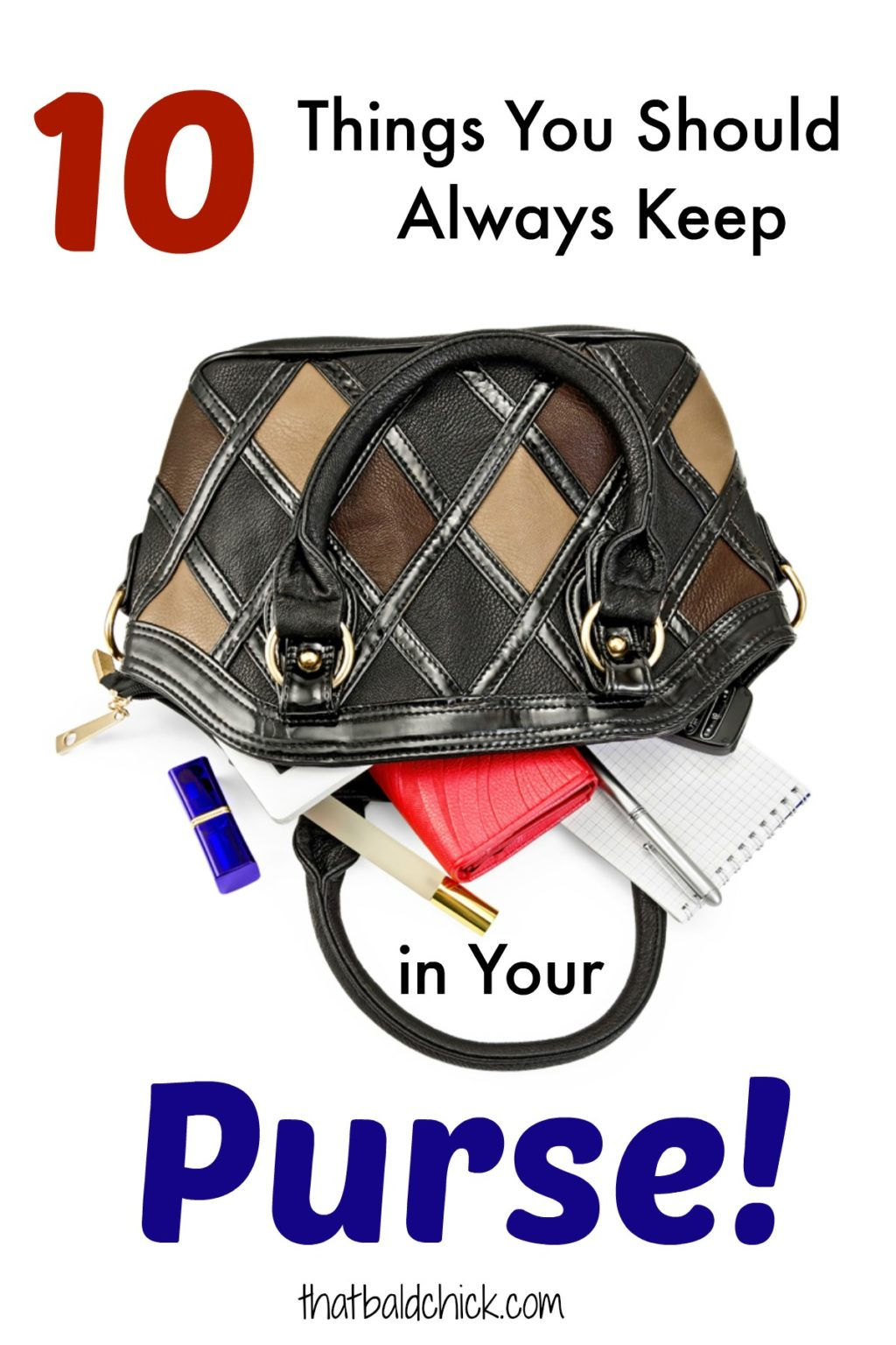10 Things You Should Always Keep In Your Purse