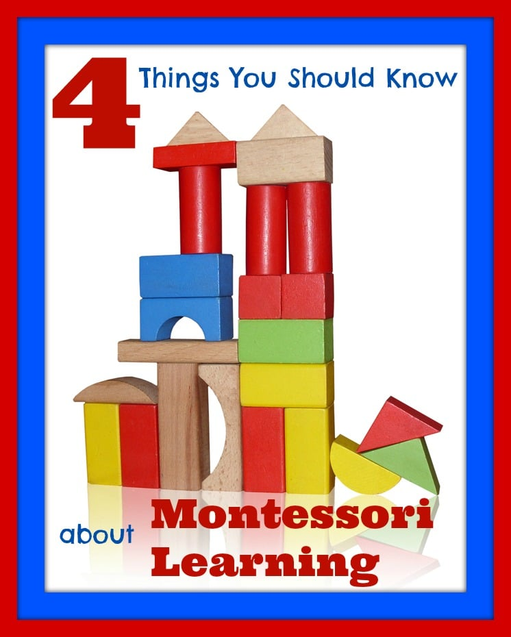 4 Things You Should Know about Montessori Learning