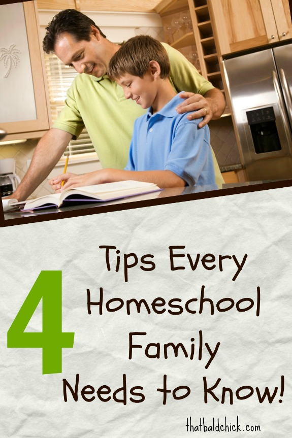 4 tips every homeschool family needs to know