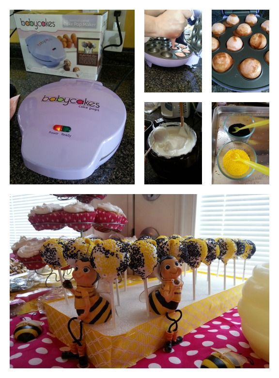 Cake Pops for a Bee Party