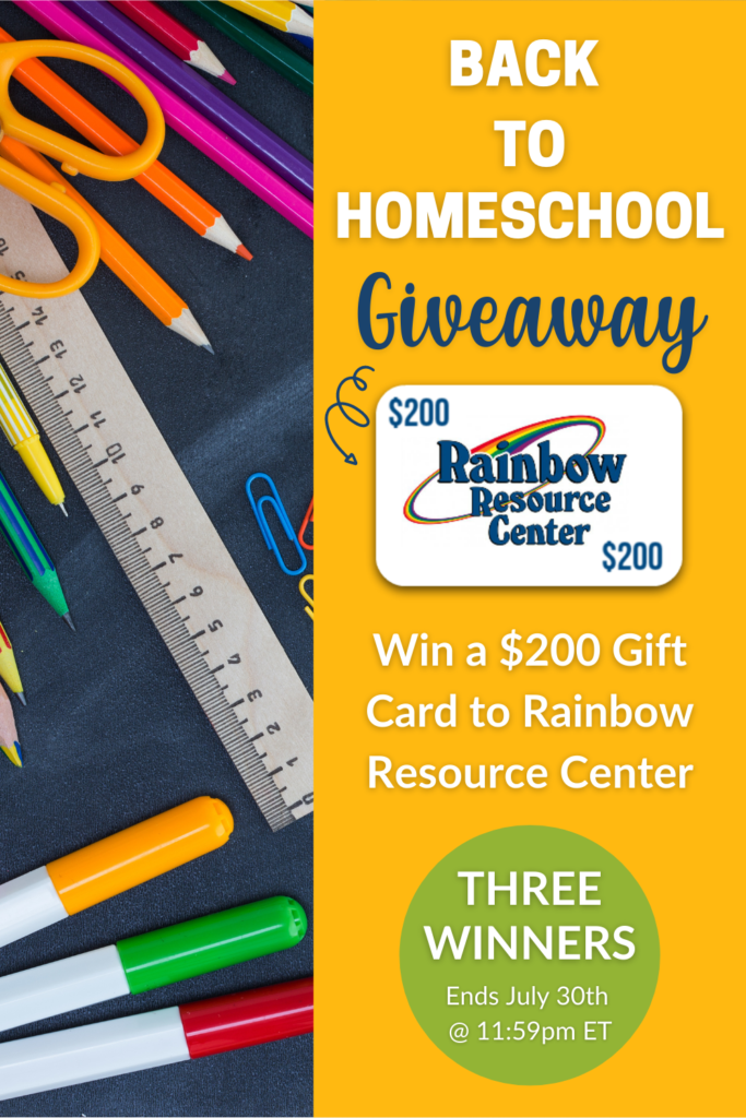 Rainbow Resource Giveaway
