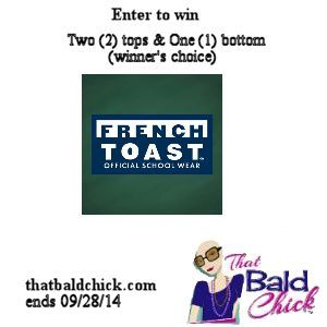 French Toast Clothing Giveaway (ends 9/28) via @thatbaldchick