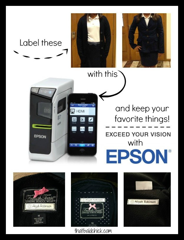 Label Clothing with the Epson LabelWorks Portable Laser Printer