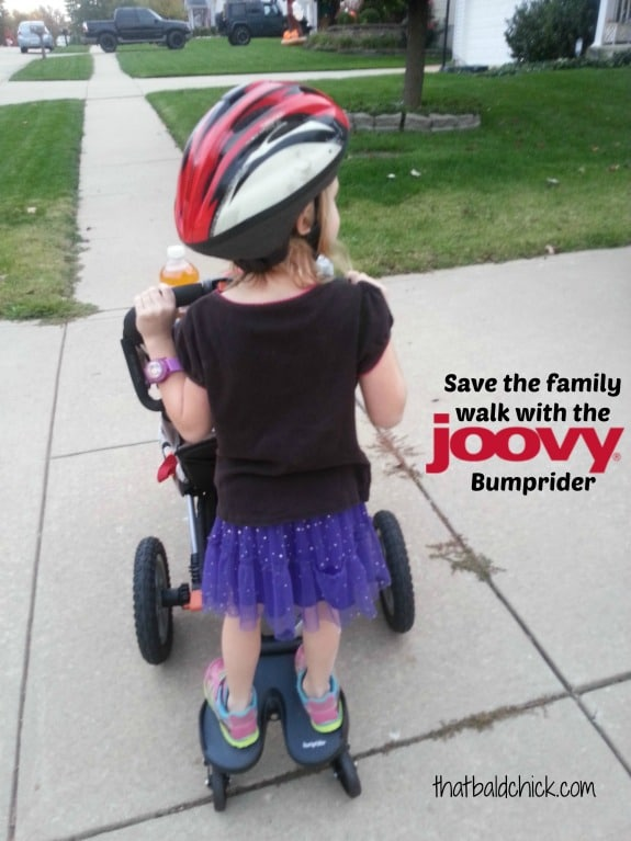 Save the family walk with the Joovy Bumprider
