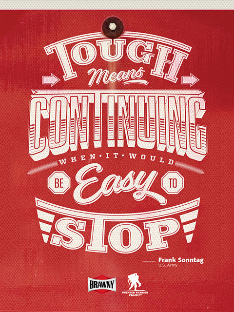 Tough Means Continuing When It Would Be Easy to Stop